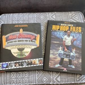 Movies and Hip Hop Coffee Books